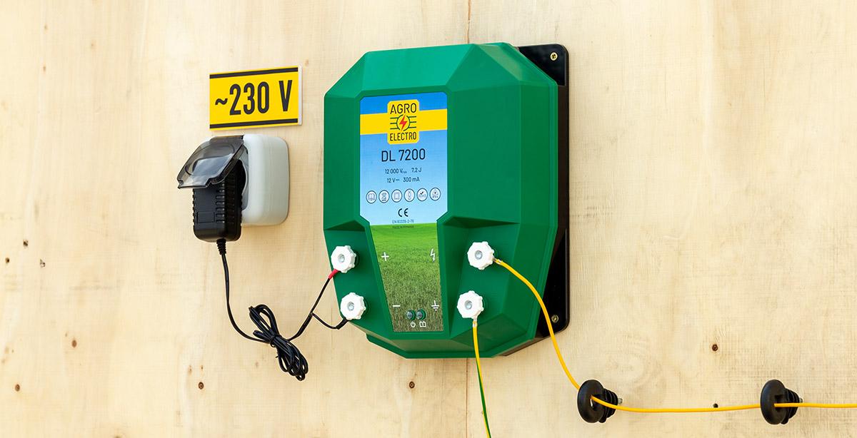 DL 7200-as villanypásztor készülék (impulzusgenerátor)