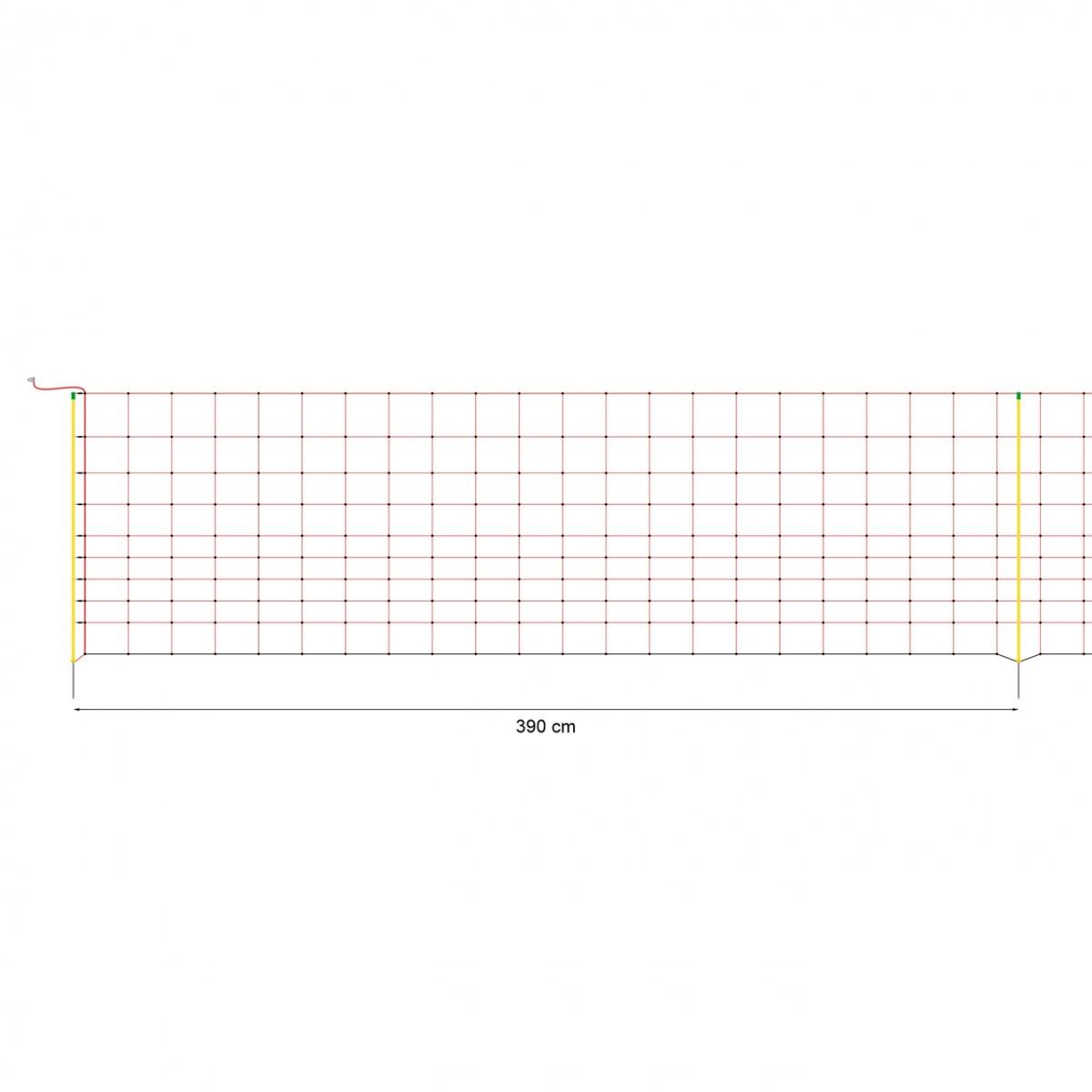 Villanypásztor háló 50 m × 108 cm