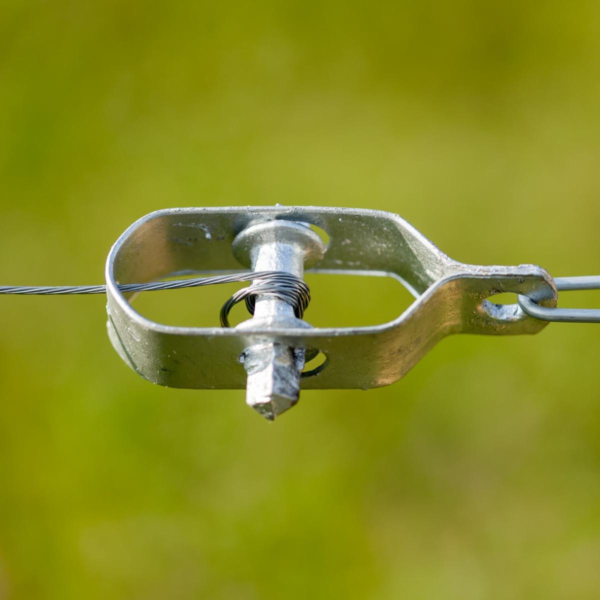 Feszítőelem huzal számára, 100 mm