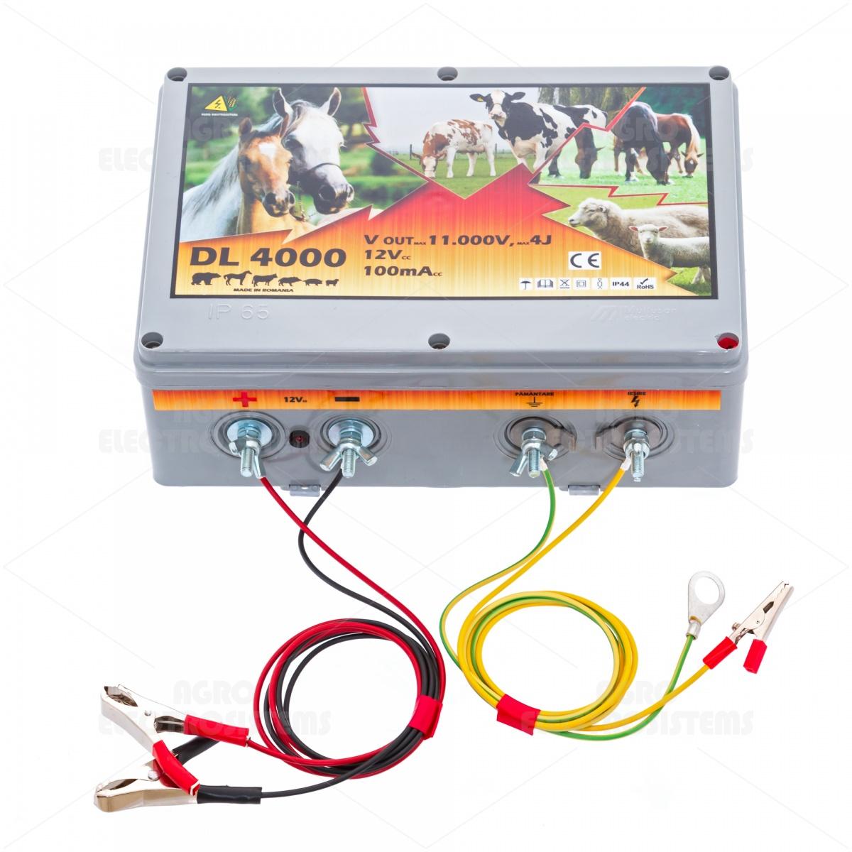 DL4000 villanypásztor készülék