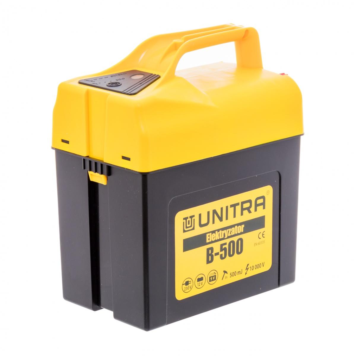 UNITRA B-500 villanypásztor készülék, 9-12 V, 0,5 Joule