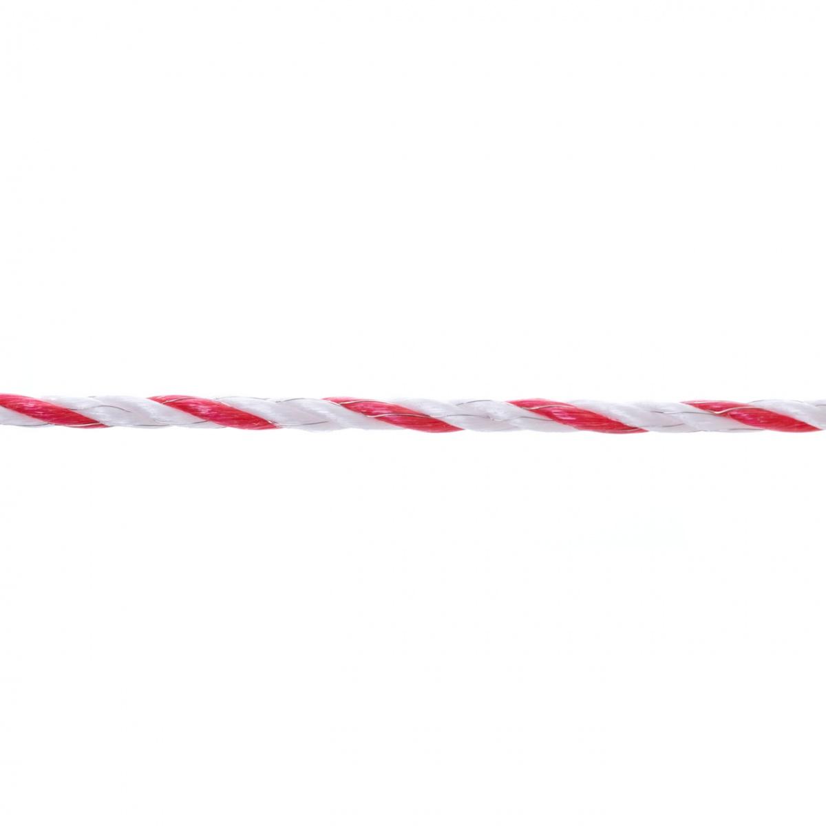 Villanypásztor kötél - 200m - 590kg - 0,4Ω/m