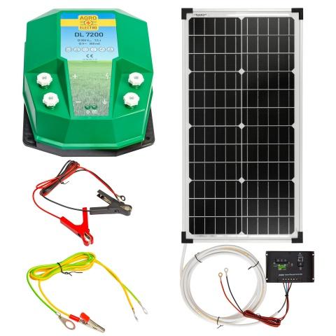 0224-0090 - DL7200 villanypásztor készülék, 12V, 7,2Joule, napelemes rendszerrel - 72100Ft