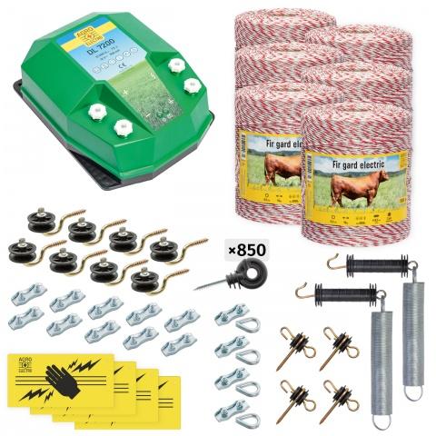cd-72-6000-0 - Teljes villanypásztor csomag háziállatoknak, 6000m, 7,2Joule - 169000Ft