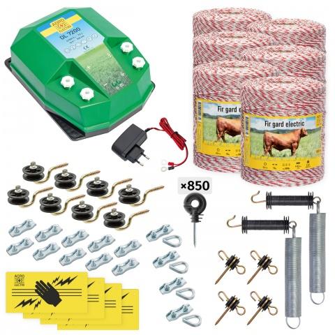 cd-72-6000-a - Teljes villanypásztor csomag háziállatoknak, 6000m, 7,2Joule, 230V - 172500Ft