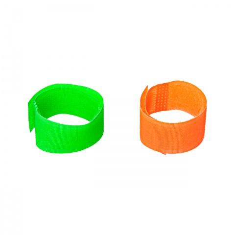 0464-go - Tépőzáras bokaszalag juhoknak és kecskéknek, zöld + narancs, 150×20mm - 2900Ft
