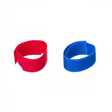 0464-rb - Tépőzáras bokaszalag juhoknak és kecskéknek, kék + piros, 150×20mm - 2900Ft
