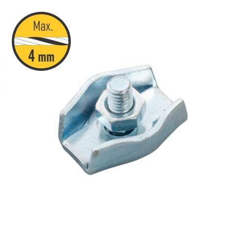 0110 - Egyszerű csatlakozó, 2-4mm-es zsinórnak - 250Ft