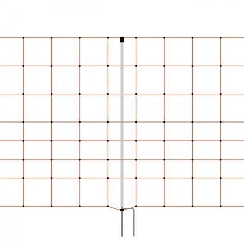 0158 - Villanypásztor háló 50 m × 90 cm - 33100Ft