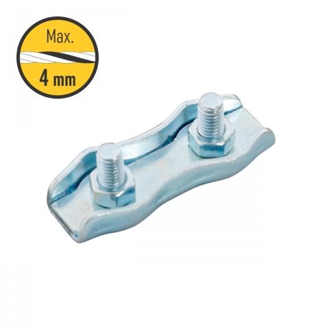 0109 - Csatlakozó szett, 2-4mm-es zsinórnak, 5 db. - 820Ft