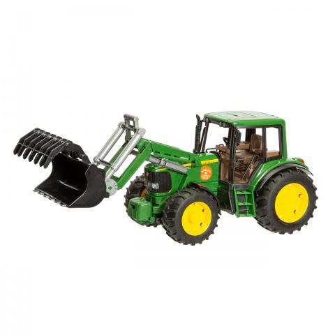 0262 - John Deere 6920 játéktraktor rakodókarral - 11500Ft