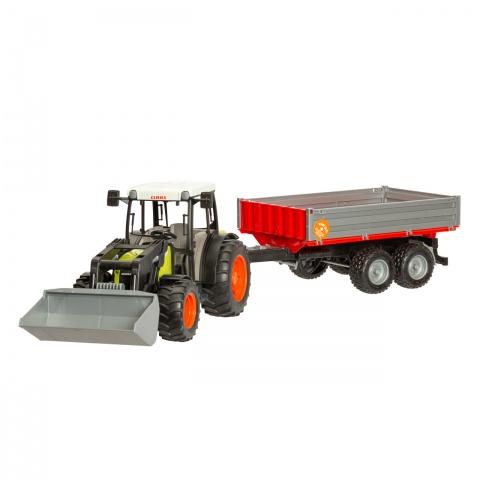 0265 - Claas Nectis 267F traktor markolóval, pótkocsival - 10600Ft