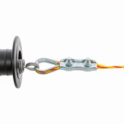 Kapu csatlakozó szett 2-4mm-es zsinórnak, 2 szett