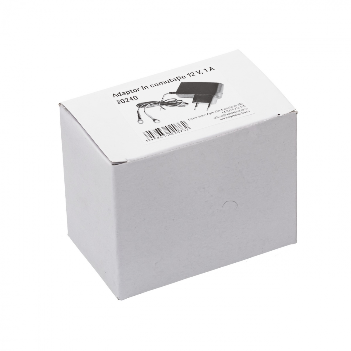 Hálózati adapter, 230/12V, kapcsolóüzemű tápegység