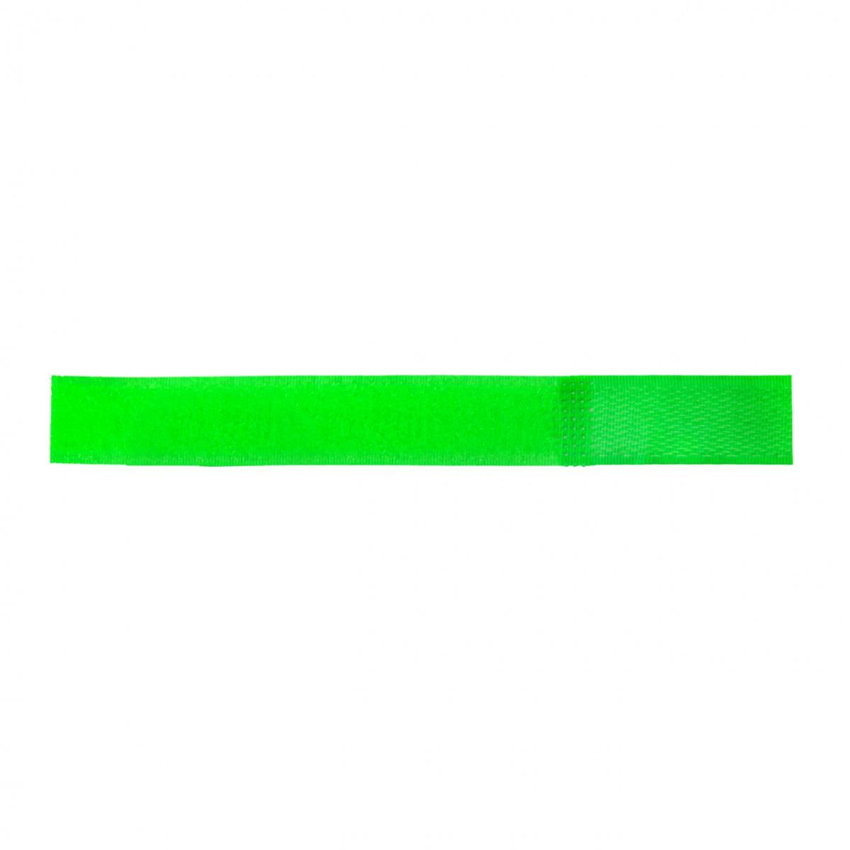 Tépőzáras bokaszalag juhoknak és kecskéknek, zöld + narancs, 150×20mm