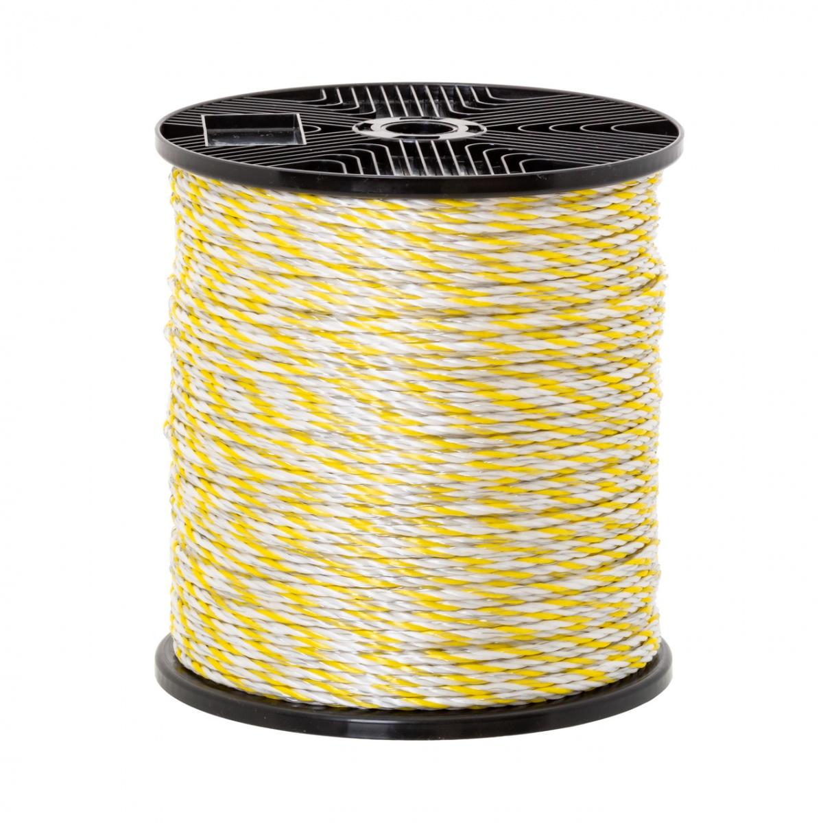 Villanypásztor kötél – 0,33 Ω/m • 330 kg • 400 m