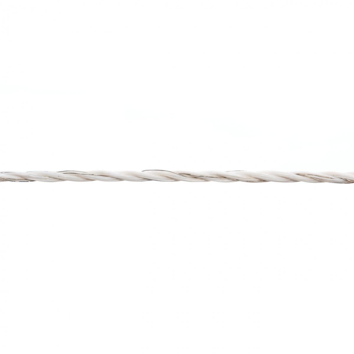 Villanypásztor zsinór - 250m - 60kg - 4,98Ω/m - 6x0,18inox