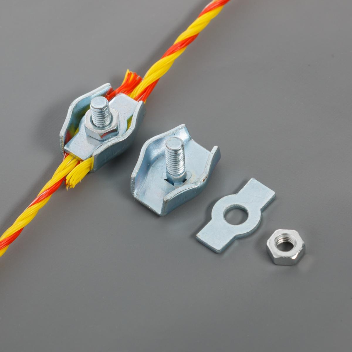 Egyszerű csatlakozó, 2-4mm-es zsinórnak