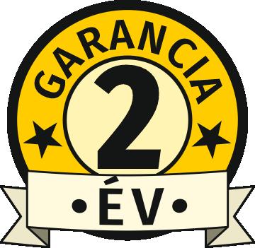 Garancia 2 év